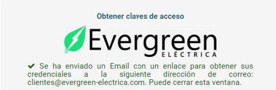 Email Evergreen Eléctrica